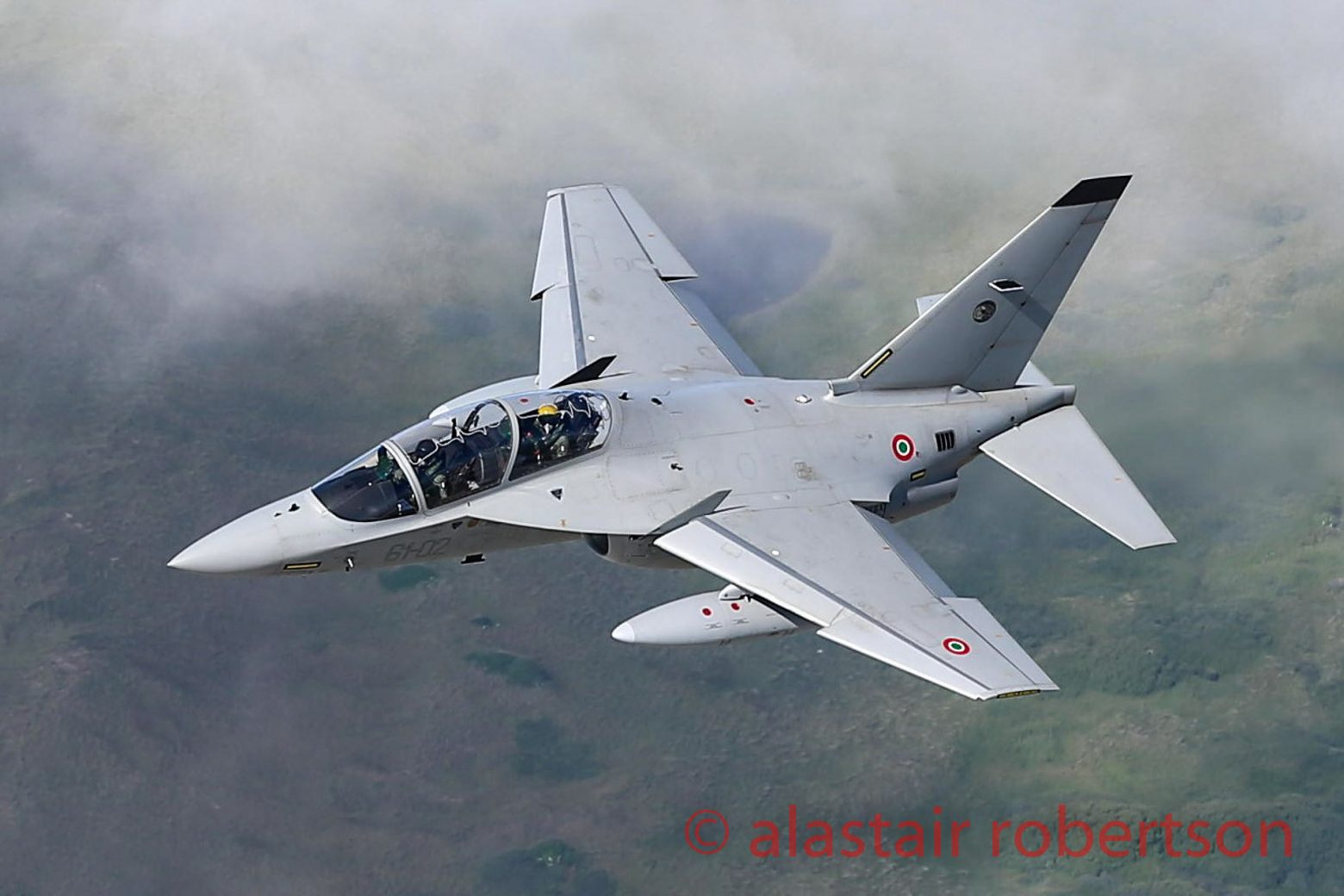 Italian Air Force Alenia Aermacchi M-346 Master 2